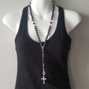Jewelry - Light weight rosary necklace